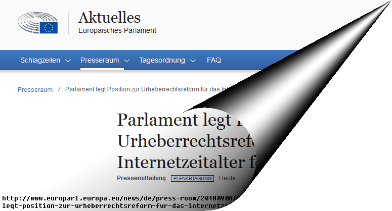 euparl_copyright